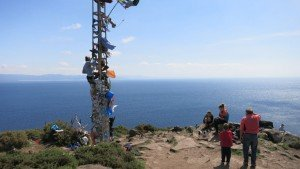 Finisterre, Galicia. Ende des Jakobswegs Travelling