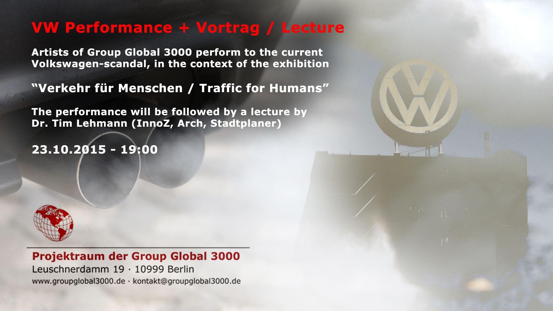 """""""VW-Performance"""", Vortrag """"Verkehr für Menschen"""