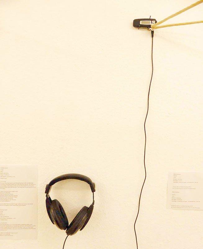 Stephan Gross o.T. Soundinstallation - Ausgewaschen