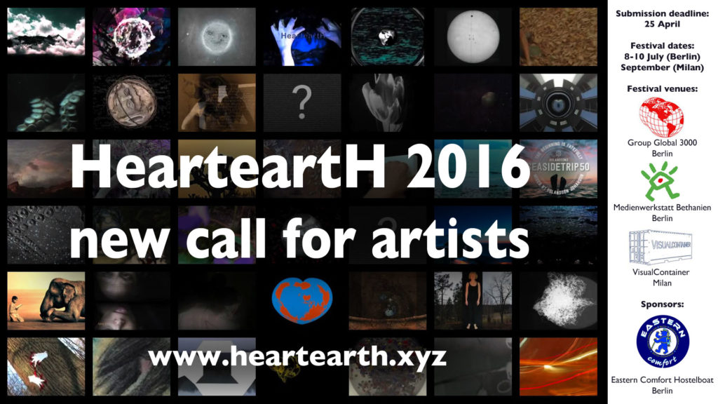 HearteartH call for artists