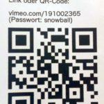 QR-Code zu Paul Wiersbinski Videolink. Der Einzelhandel ist mit dem Weihnachtsgeschäft zufrieden.