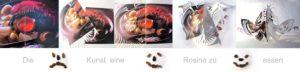 The art to eat a raisin. C Christiane Gaebert