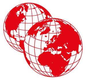 """Logo """"Group Global 3000"""" Wir arbeiten für eine zweite Welt"""