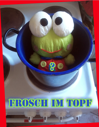 Der Frosch im Topf. C Dorotea Etzler