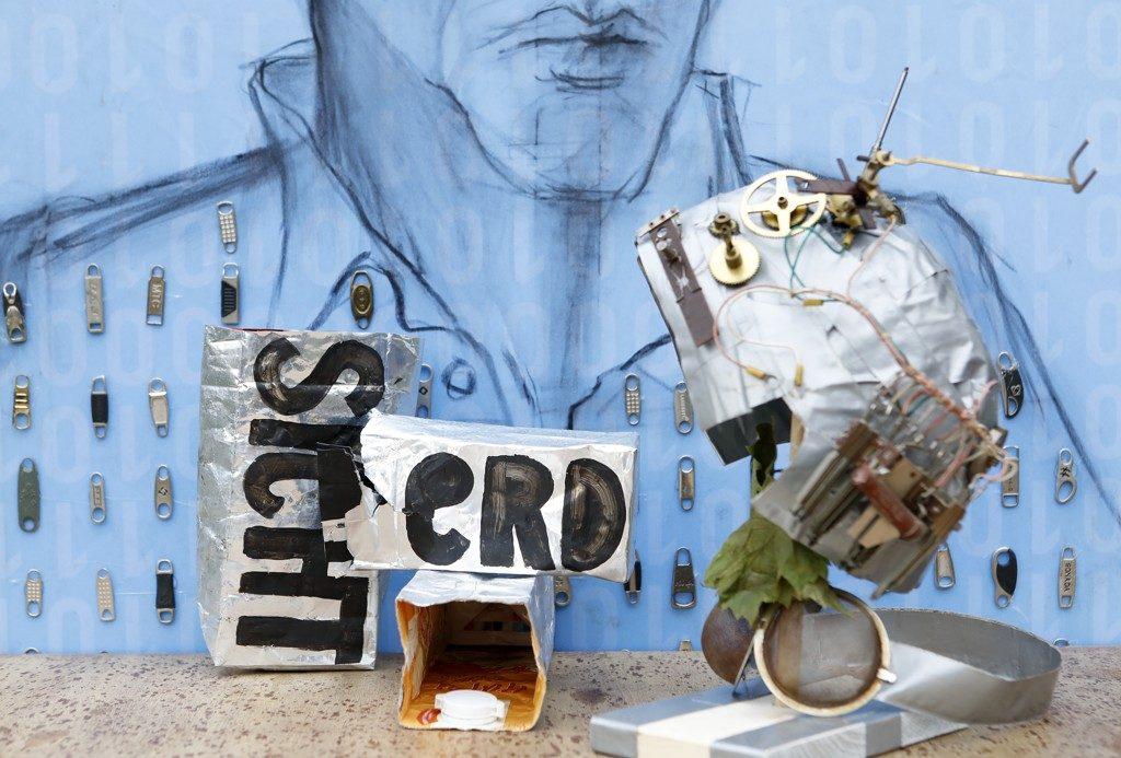 Werke der drei Künstlerinnen Wege zur Nachhaltigkeit