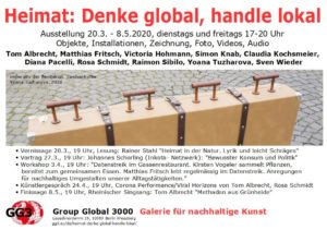 Webflyer Heimat: Denke global, handle lokal