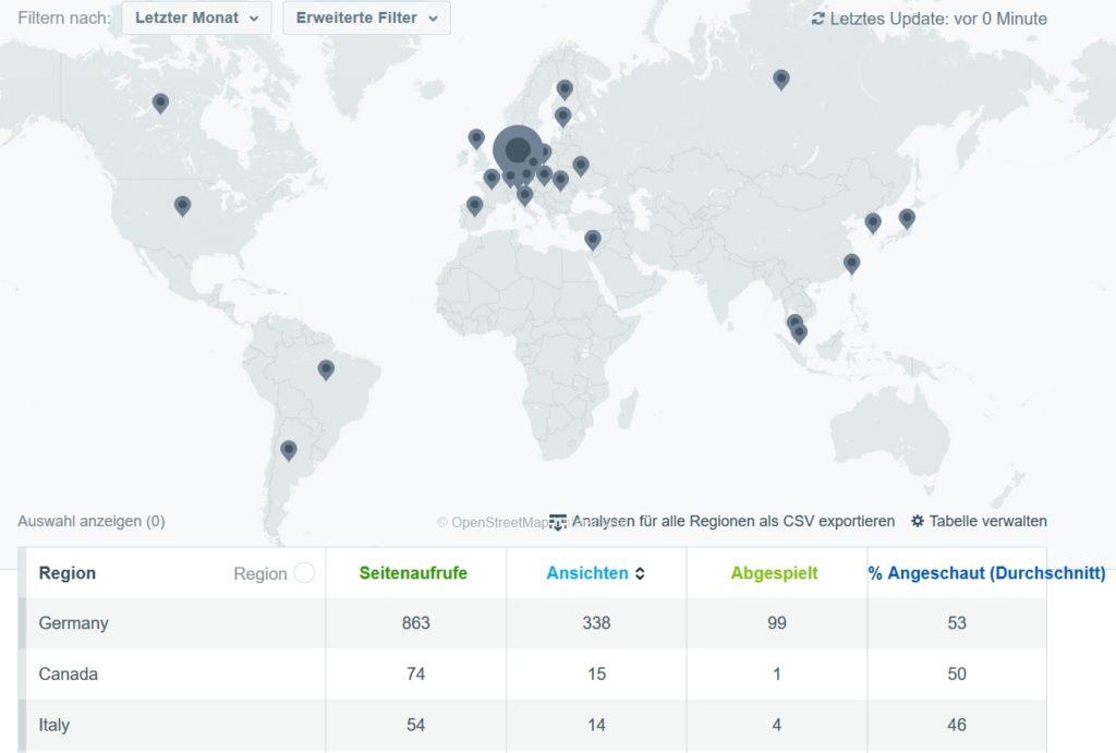 GG3 weltweit